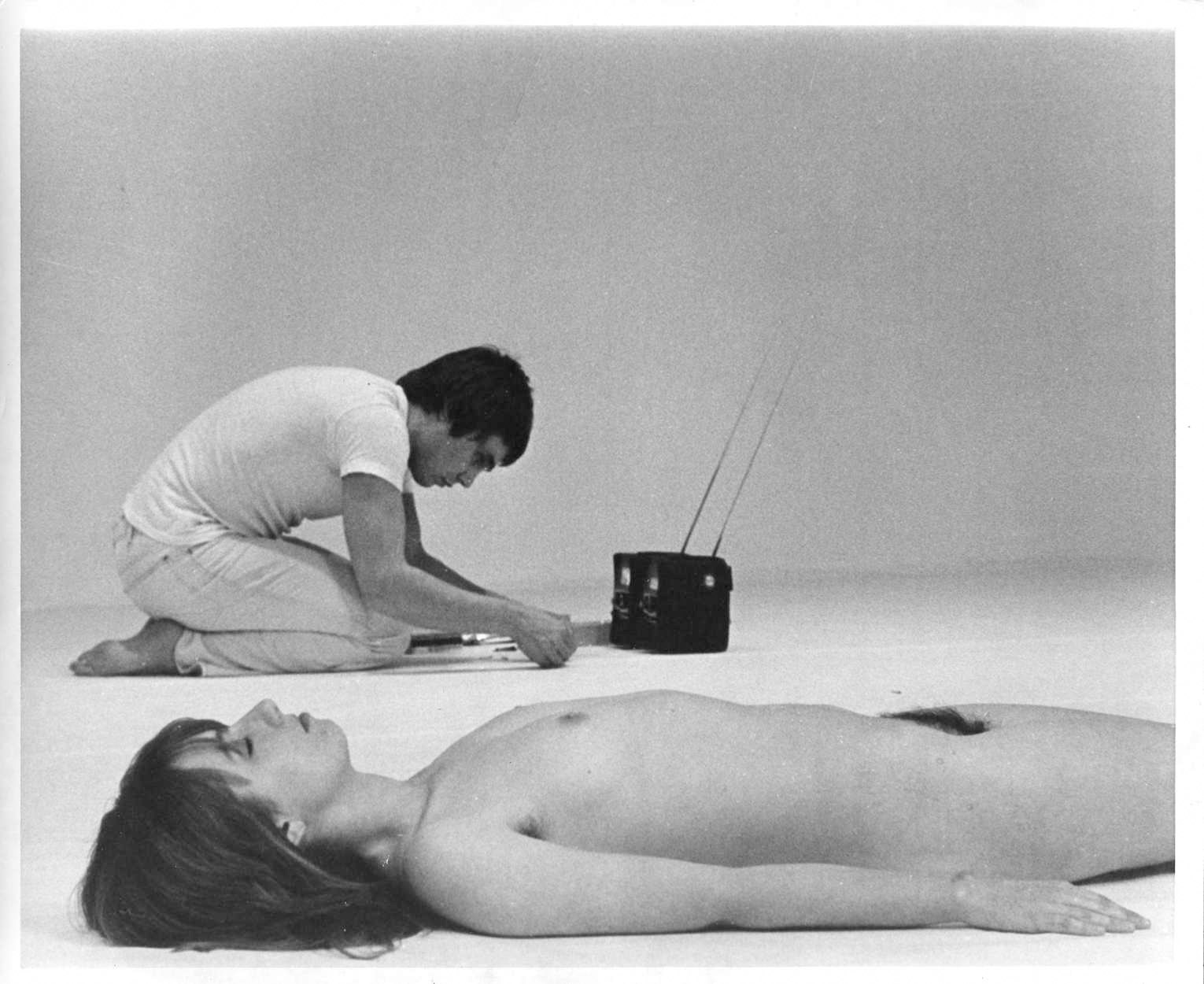 In the Front Row for Chris Burden's Match Piece, 1972