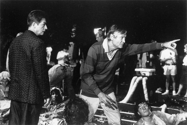 Roger Corman on set. Courtesy of New Horizons, Los Angeles.