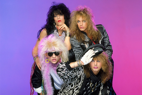 "Cover art for Poison's 1986 album ""Look What the Cat Dragged In."" Photo: Scarpati."
