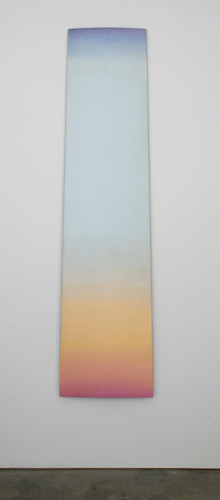 Don Dudley, <em>Skysnare</em>, 1966-67. Acrylic lacquer on aluminum, 84 x 21 in.