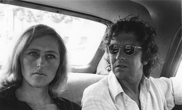 Rosamund Felsen and Robert Rauschenberg, 1971. Photo: Sidney B. Felsen. Courtesy of Sidney B. Felsen.