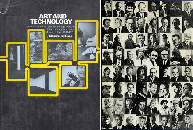 """A Report on the Art and Technology Program of the Los Angeles County Museum of Art, 1967-1971."""