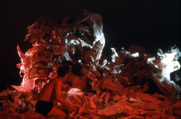 "Carolee Schneemann, <em>Meat Joy</em>, 1964/2002. Performance in ""A Short History of Performance: Part One"" at Whitechapel Art Gallery, London, April 16, 2002. Photo: Manuel Vason. Courtesy of the artist."