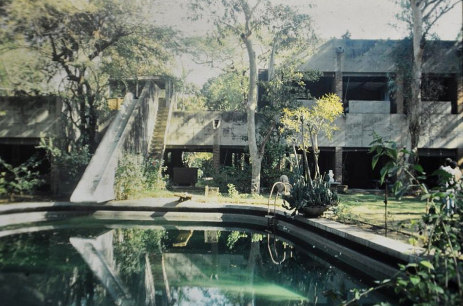 Le Corbusier, Villa de Madame Manorama Sarabhai, Ahmedabad, 1951. Photo: Nicholas Iyadurai. ©FLC/ARS, 2013.