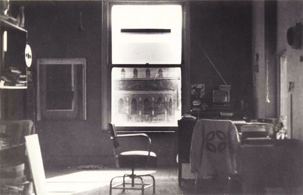 Office of the Museum of Conceptual Art, 1975. Photo: Tom Marioni. Published in <em>Vision</em>, issue 1, 1975.