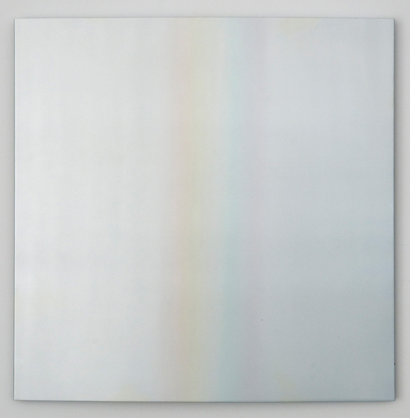 Don Dudley, <em>Sky Prism</em>, 1966-67. Acrylic lacquer on aluminum, 21 x 21 in.