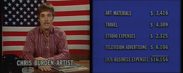 Do You Believe in Television? Chris Burden and TV