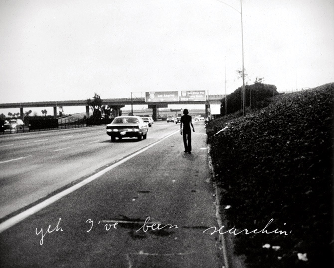 Bas Jan Ader, <em>In Search of the Miraculous (One Night in Los Angeles)</em>, 1973. Copyright Bas Jan Ader Estate, courtesy Patrick Painter, Santa Monica.