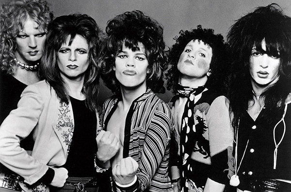 The New York Dolls, ca. 1970s.