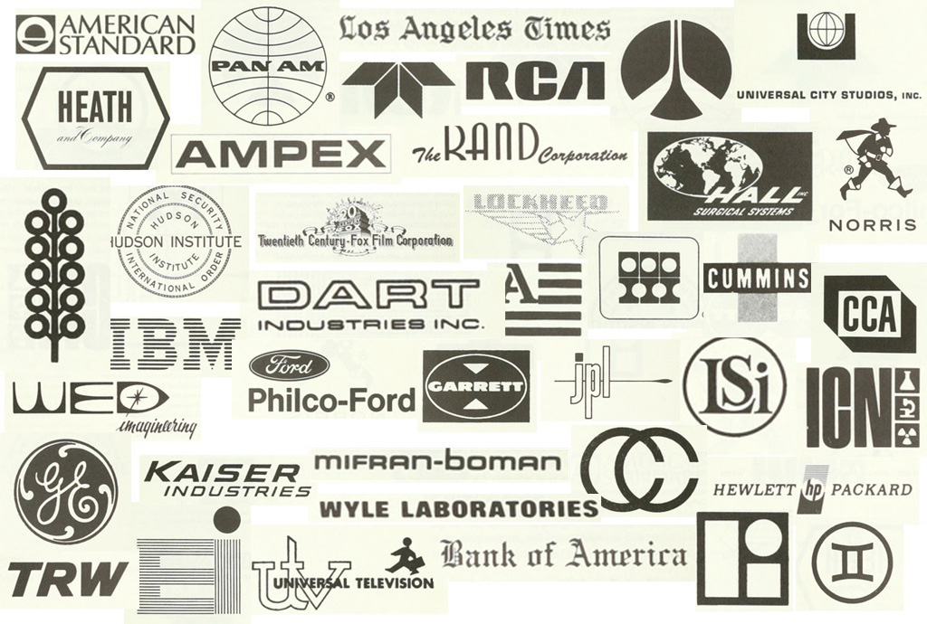 Sponsors of the original Art and Technology Program at LACMA.