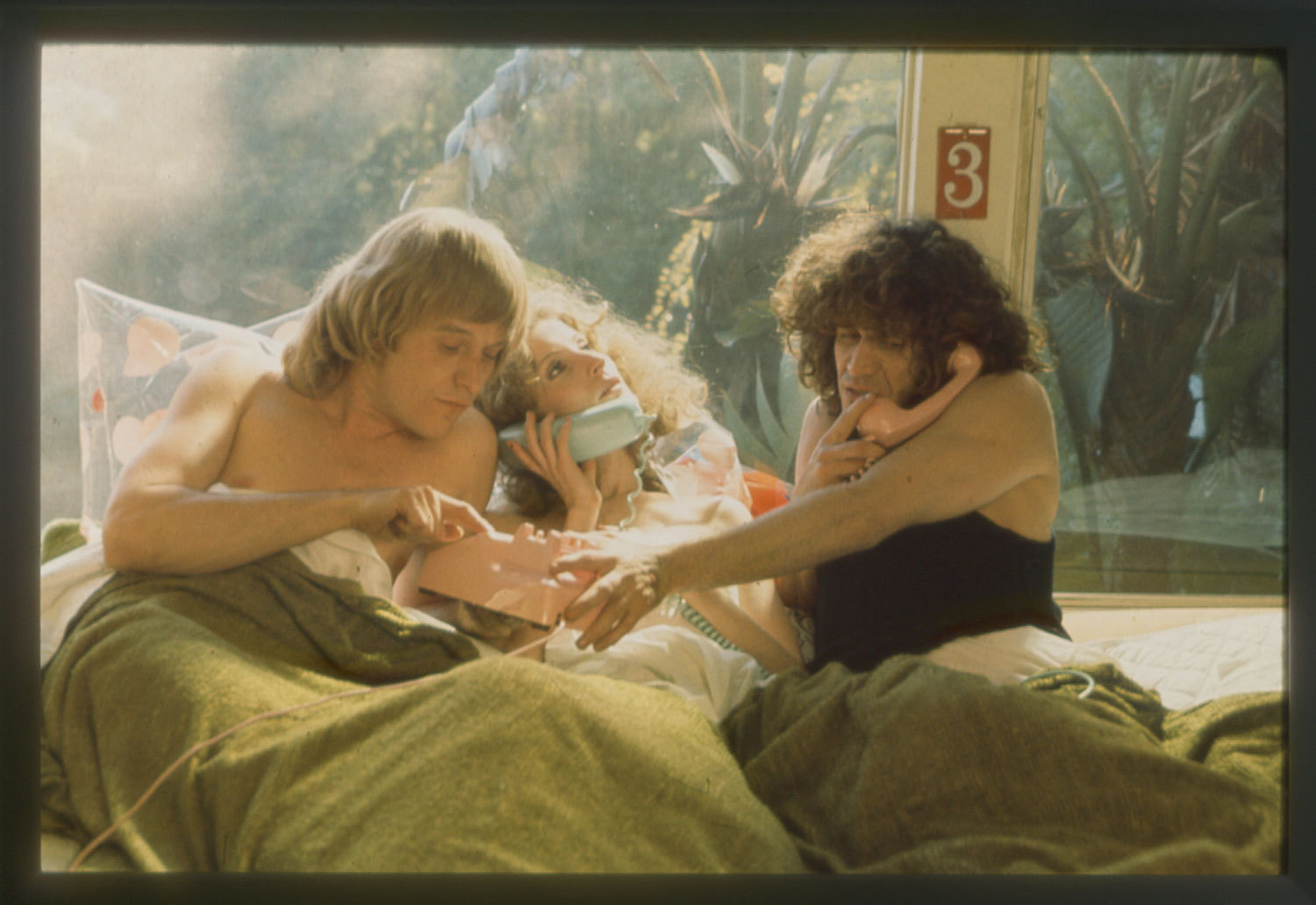 Agnès Varda, <em>Lion Love (...and Lies)</em>, 1969 (still). Color film in 35mm, 110 min. Courtesy Ciné-Tamaris.