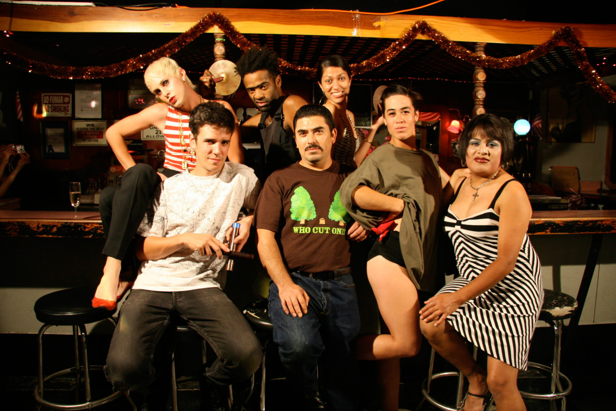 <em>Wildness</em> family portrait, 2012. Courtesy of Class Productions & Now Unlimited.