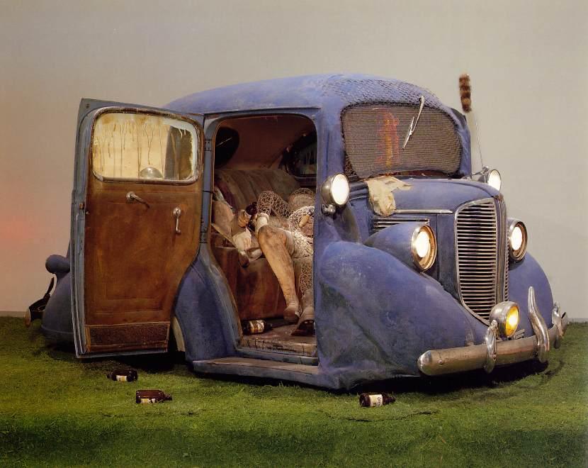 Edward Kienholz, Back Seat Dodge '38 (1964)