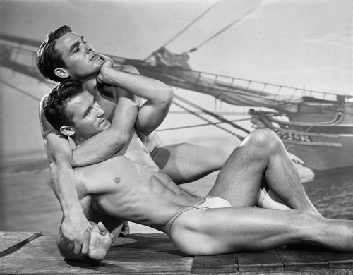 Fred Hare and John Kemble, 1951 © The Bob Mizer Foundation, Inc.